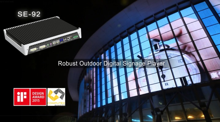 Outdoor Robust Digital Signage Player - SE-92