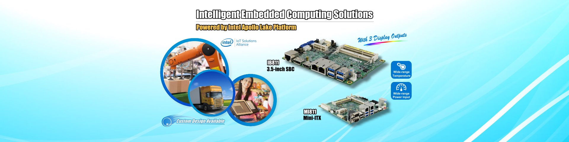 IBASE Intelligent Embedded Computing Solutions