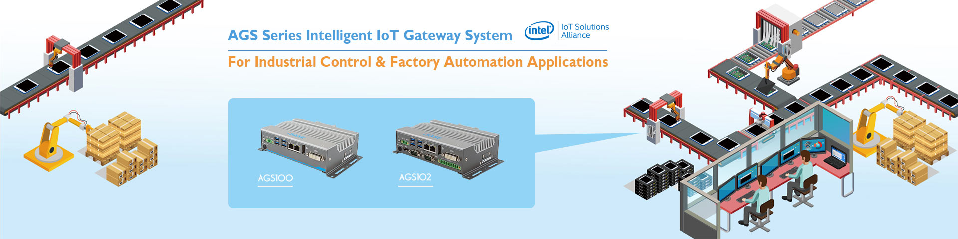AGS Series Intelligent IoT Gateway System